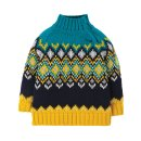 Frugi- Strickpullover- Fyfe Fairsisle- Bumble Bee- 3-10...