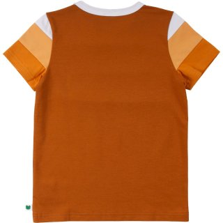 Fred´s World- T-Shirt- Alfa Block- pekan- Gr. 104-140
